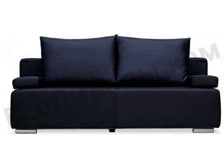 Прямой диван Мадейра (Экокожа) вид спереди