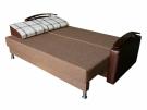 Прямой диван Газго в разложенном виде