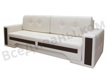 Прямой диван Барселона вид сбоку