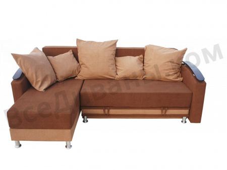 Угловой диван  Валенсия-2 вид спереди
