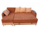 Угловой диван  Валенсия-2 в разложенном виде