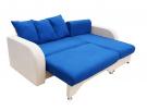 Угловой диван  Апрель в разложенном виде