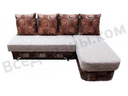 Угловой диван  Милан вид спереди