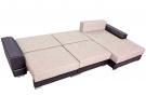 Угловой диван  Версаль в разложенном виде
