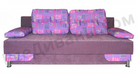 Прямой диван Наташа БП вид спереди