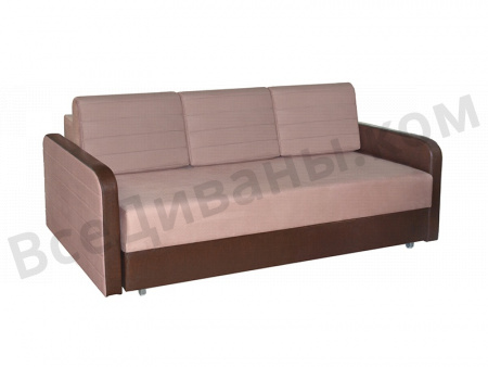 Прямой диван Ясмин вид слева