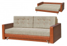 Прямой диван Дженифер вид спереди