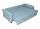 Прямой диван Джерман-1 в разложенном виде