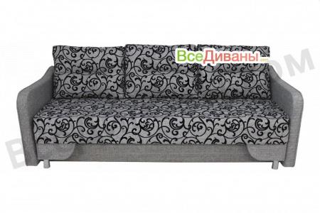 Прямой диван Наташа МП вид спереди