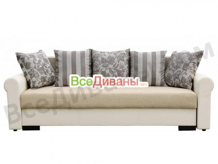 Прямой диван Рейн (Париж) вид спереди