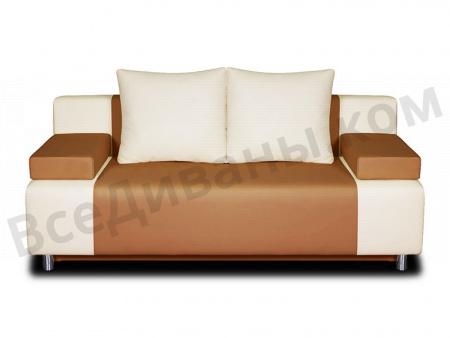 Прямой диван Плей-1 вид спереди