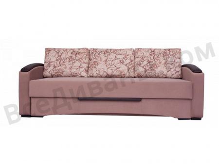 Прямой диван Стелла МДВ вид спереди