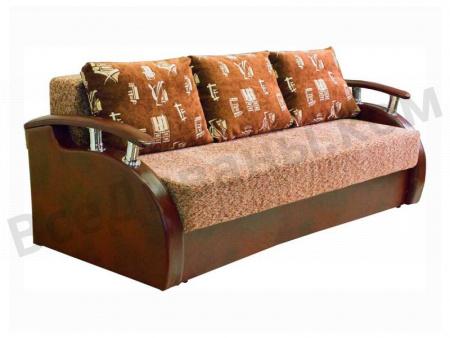 Прямой диван Этюд-18 вид слева