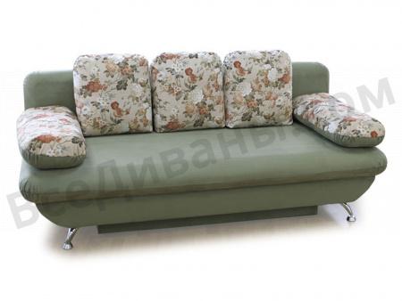 Прямой диван Шарлотта АРТ вид слева