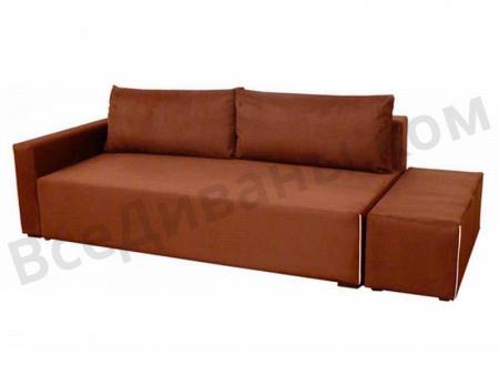 Прямой диван Викинг вид справа