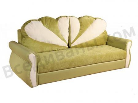 Прямой диван Литиция вид слева
