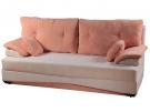 Прямой диван Мадлен (Бостон) вид спереди