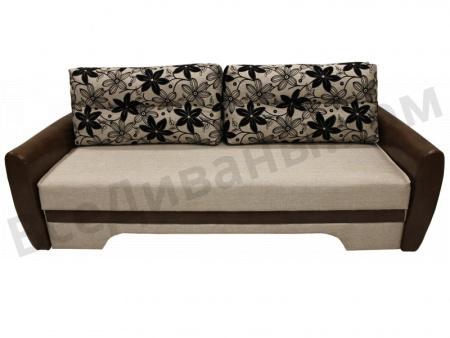 Прямой диван Наташа-2 вид спереди