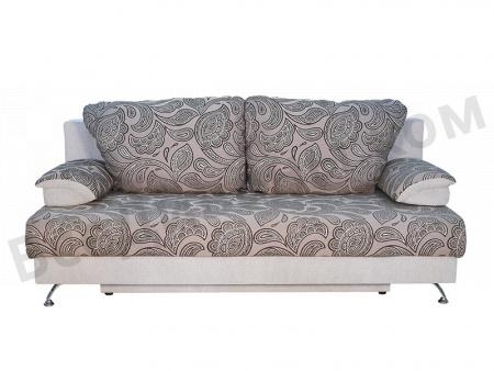 Прямой диван Амелия вид спереди