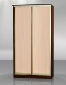Двухдвердный шкаф-купе Версаль без зеркал вид спереди