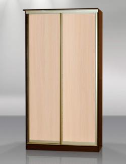 Двухдвердный шкаф-купе Версаль без зеркал