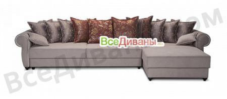 Угловой диван  Рилотти Классик вид спереди