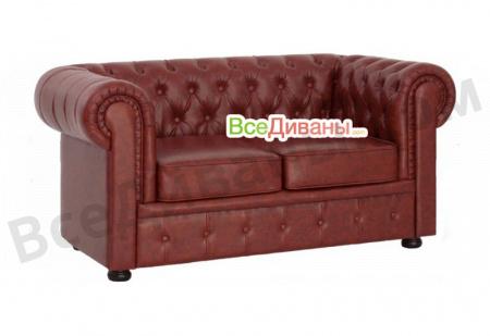 Прямой диван Офисный диван Честер 2-х местный