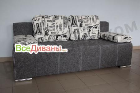 Прямой диван Оскар вид спереди