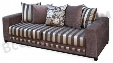 Прямой диван Палермо люкс вид слева