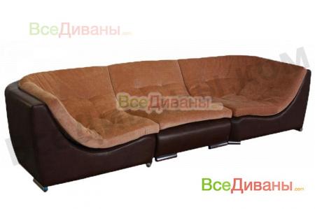Прямой диван Монреаль, вариант 3
