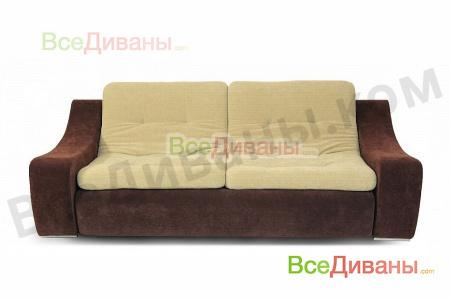 Прямой диван Монреаль с подлокотниками