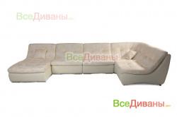 Угловой диван  Монреаль модульный без трансформации