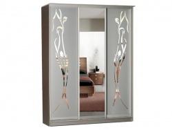 Концепт-33 с зеркалами и пескоструйным рисунком
