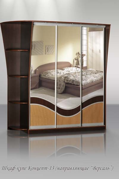 Концепт-13 комбинированный: зеркало+ЛДСП