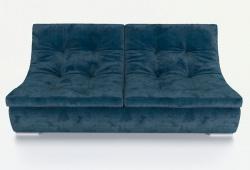 Прямой диван Монреаль французская раскладушка, Вариант 2
