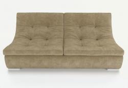 Прямой диван Монреаль французская раскладушка, Вариант 1