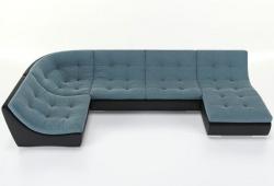 Угловой диван  Монреаль-4 французская раскладушка, Вариант 3