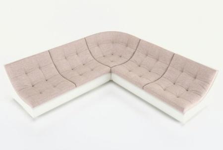 Угловой диван  Монреаль-3 французская раскладушка, Вариант 5