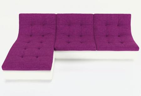 Угловой диван  Монреаль-2 французская раскладушка, Вариант 6