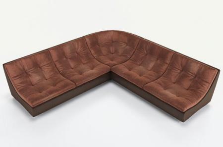 Угловой диван  Монреаль-3 французская раскладушка, Вариант 3