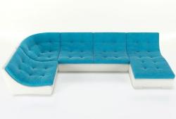 Угловой диван  Монреаль-4 французская раскладушка, Вариант 2