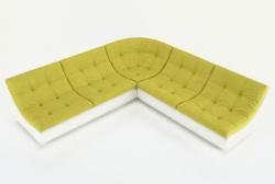 Угловой диван  Монреаль-3 французская раскладушка, Вариант 4