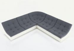 Угловой диван  Монреаль-3 французская раскладушка, Вариант 2