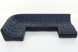 Угловой диван  Монреаль-4 французская раскладушка, Вариант 4