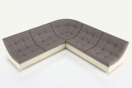 Угловой диван  Монреаль-3 французская раскладушка, Вариант 1