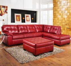 Угловой диван  Дивайс-люкс с пуфом