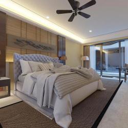 Мягкая кровать Аризона Вельвет 92