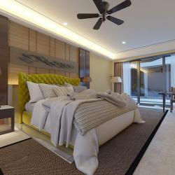 Мягкая кровать Аризона Yellow