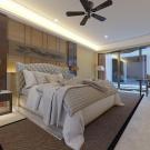 Мягкая кровать Аризона Эко Беж