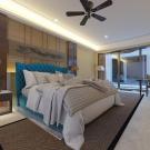 Мягкая кровать Аризона Шагги Азур